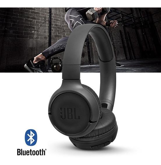 Fone De Ouvido Headphone Jbl Tune T 500 Preto Bt Bluetooth