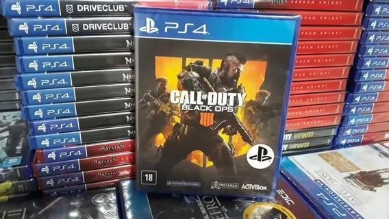 Call Of Duty Black Ops 4 - Mídia Física - Português - Ps4