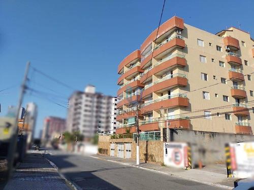 Imagem 1 de 17 de Apartamento Com 3 Dormitórios À Venda, 80 M² Por R$ 335.000,00 - Boqueirão - Praia Grande/sp - Ap0366