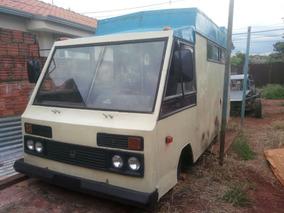 Furgao Invel Motor Home Food Truck Caravana Trailer