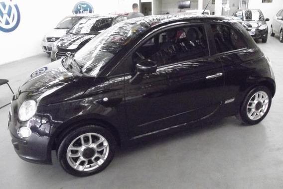 Fiat 500 Sport 2010 Completo Unica Dona Bem Conservado