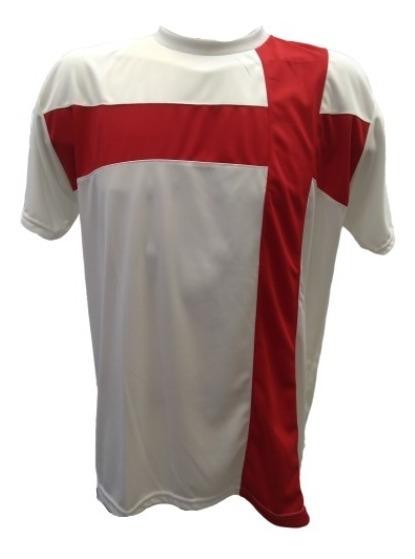 Camiseta De Futbol Cruz X 10 Unidades (bl/rj) - Packcr