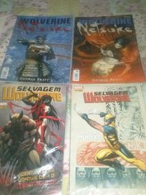Wolverine Selvagem E Wolverine Netsuke (completas)