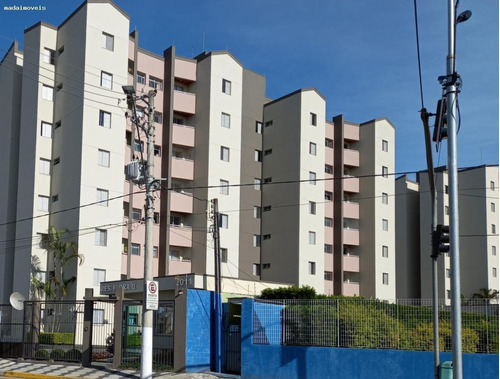Apartamento Para Venda Em Mogi Das Cruzes, Vila Mogilar, 2 Dormitórios, 1 Banheiro, 1 Vaga - 3061_2-1172200