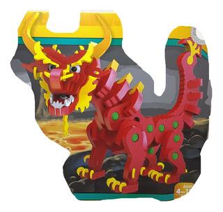 Foamy Dragon Armable Armatodo Fichas Didáctico Rompecabezas
