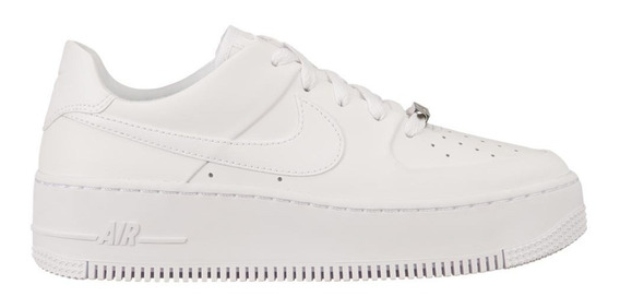 Zapatillas Nike Mujer Air Force 1 Sage Low 5737