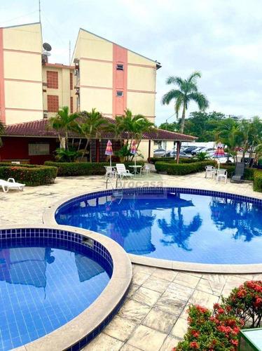 Imagem 1 de 30 de Apartamento Semi Mobiliado Com 2 Dormitórios À Venda, 45 M² Por R$ 190.000 - Flores - Manaus/am - Ap3272
