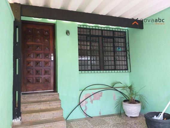 Sobrado Com 2 Dormitórios Para Alugar, 140 M² Por R$ 2.000,00/mês - Centro - Santo André/sp - So0253