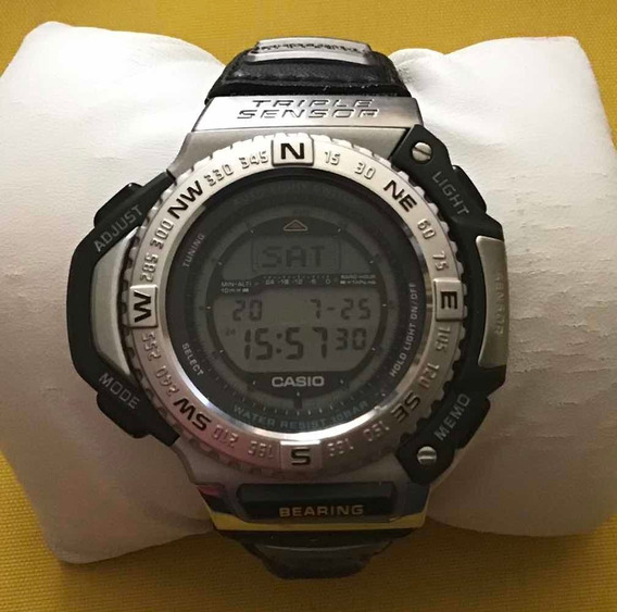 Relógio Casio Protrek Prt-1400 Raríssimo Chance Única