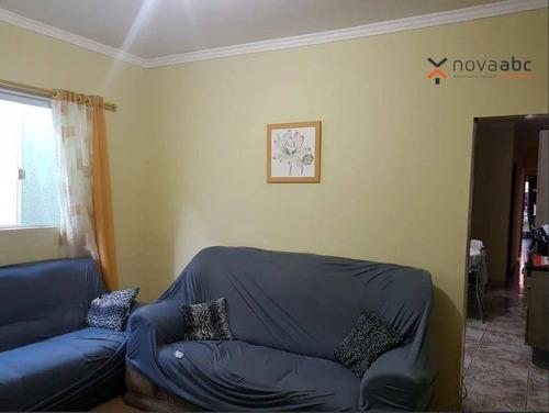 Sobrado Com 5 Dormitórios À Venda, 270 M² Por R$ 370.000,00 - Vila João Ramalho - Santo André/sp - So0970