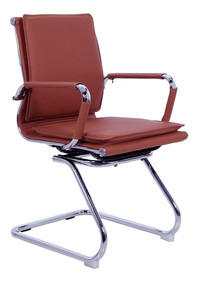 Cadeira Base Fixa New Madrid Terracota