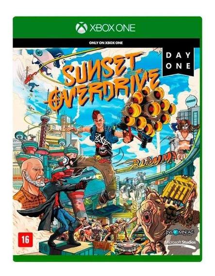 Sunset Overdrive Xbox One Mídia Física Novo Lacrado