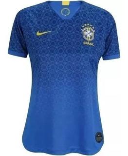 Camiseta Seleção Brasileira Original Feminino Pronta Entrega
