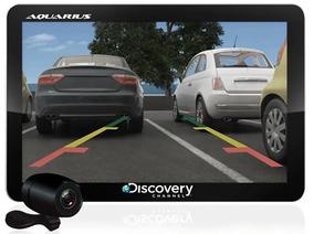 Gps Automotivo Aquarius Discovery 4.3 - Câmera De Ré - Novo