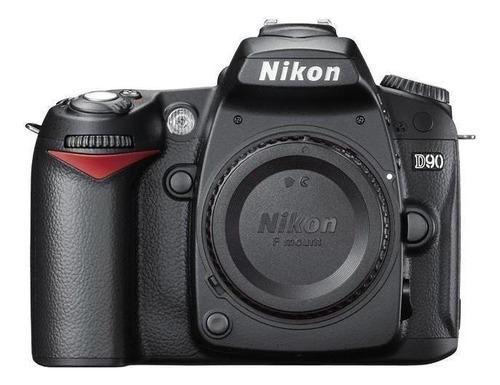Imagem 1 de 2 de Nikon D90 DSLR cor  preto