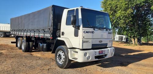 Imagem 1 de 15 de Ford Cargo 2422 Com Carroceria Graneleiro Truck 6x2 - 2428