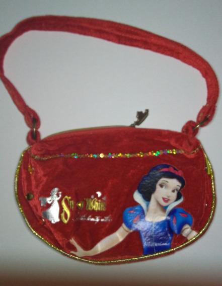 Cartera Blancanieves - Disney - Original - Excelente Estado