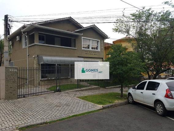 Sala Para Alugar Por R$ 1.200,00/mês - Mercês - Curitiba/pr - Sa0002