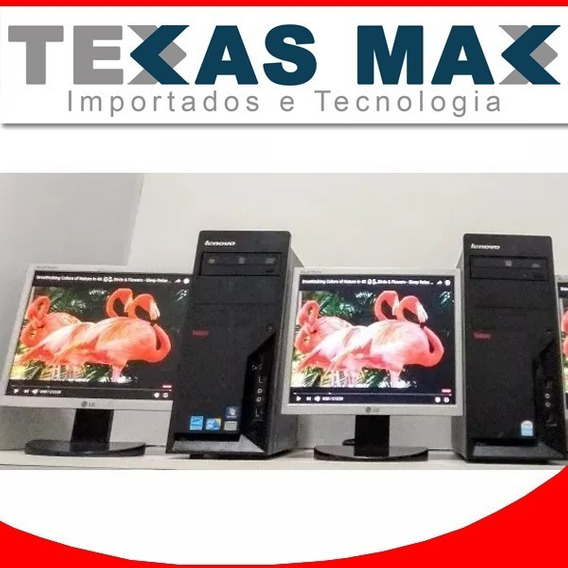 Lote Computador Core 2 Duo+monitor15+mouse Teclado Valor Un