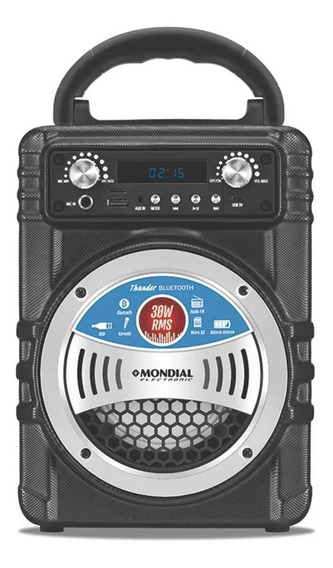 Caixa Amplificada Multi Connect Bluetooth 30w Mco-05 Mondial
