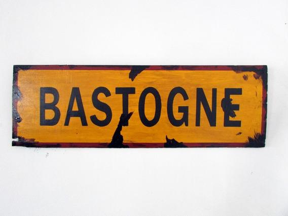 Placa Decorativa Segunda Guerra Mundial Bastogne