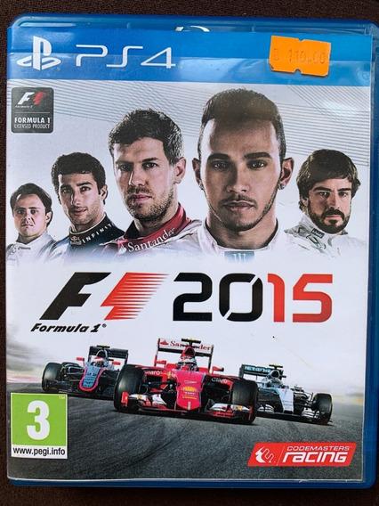 Formula 1 2015 F1 Ps4 Física Usado