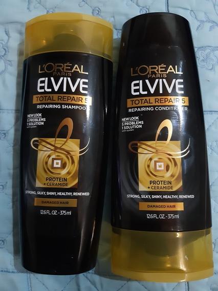 Shampoo Y Acondicionador Loreal Paris Combo 15d