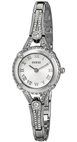 Reloj De Mujer Guess Inspirado En La Vendimia De Acero Inoxi