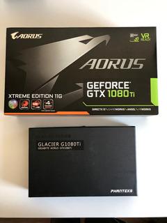 Aorus Gtx 1080ti Xtreme 11g Gratis Phanteks Rgb Waterblock