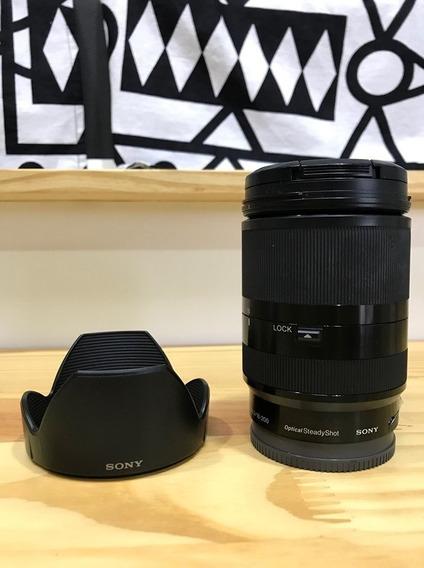 Lente 18-200m Sony E-mount F/3.5-6.3