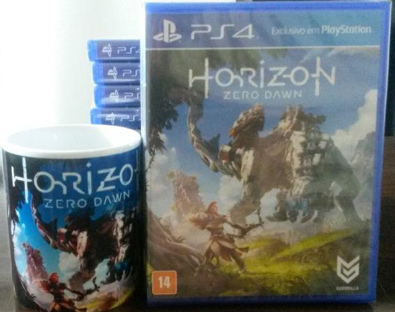 Horizon Zero Dawn Ps4 Mídia Física + Caneca Personalizada