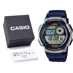Relógio Casio Ae-1000w Original Digital Metal C Caixa E Nf
