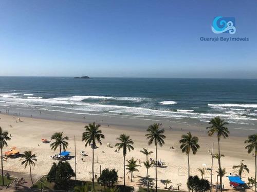 Imagem 1 de 30 de Apartamento Frente Ao Mar -  Praia Da Enseada - Guarujá - Ap4353