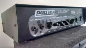 Cabeçote De Contra-baixo Master 600w Rms
