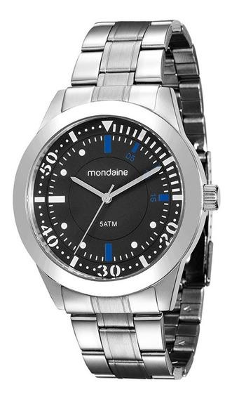 Relógio Mondaine Masculino Prata 78735g0mvna1