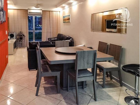 Enseada - Próximo Da Praia - 146 M² Úteis - Condomínio Baixo - Garagem No Prédio. - Ap5133