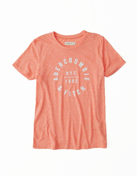 Remera Abercrombie & Fitch Original Mujer Talle M 2019