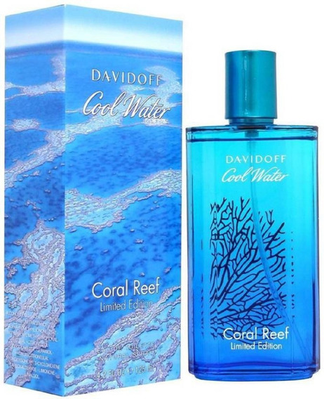 Perfume Davidoff Cool Water Coral Reef Edt 125ml - Novo