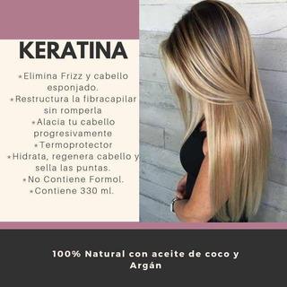 Kit Shampoo Cola Larga Y Keratina - Crece 5 Cm Mes