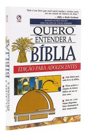 Livro Quero Entender A Bíblia