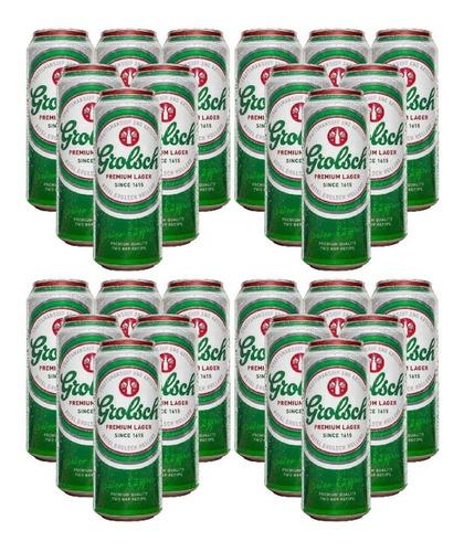 Imagen 1 de 6 de Cerveza Grolsch Lata X473cc Pack X 24un