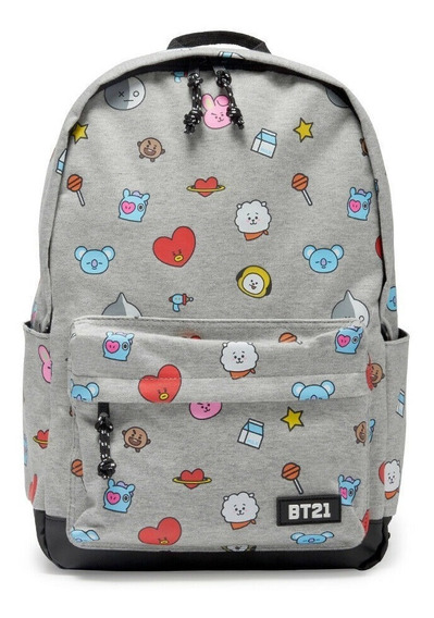 Bt21 Bts Mochila Original Jimin Suga Jin Line Friends J-hope