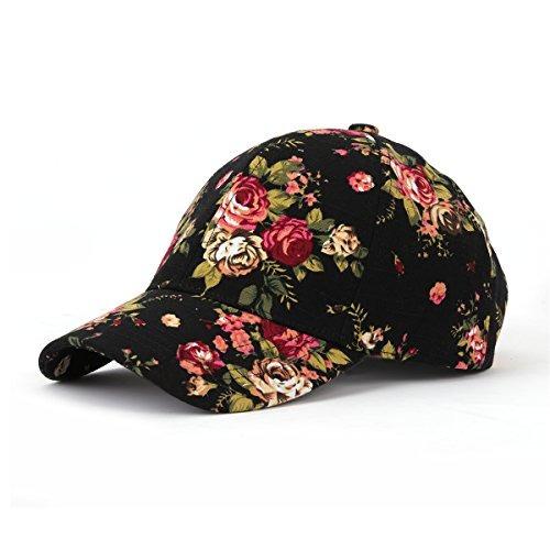 bce6fb19dea7 Gorra De Béisbol Joowen Con Estampado Floral Ajustable 100%