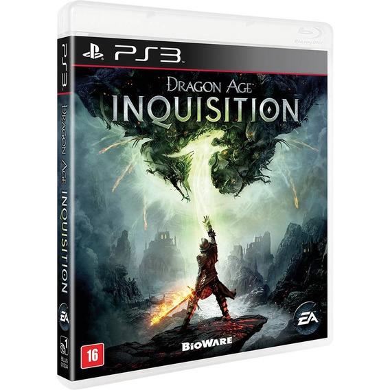Dragon Age Inquisition Ps3 Semi-novo Em Perfeito Estado!