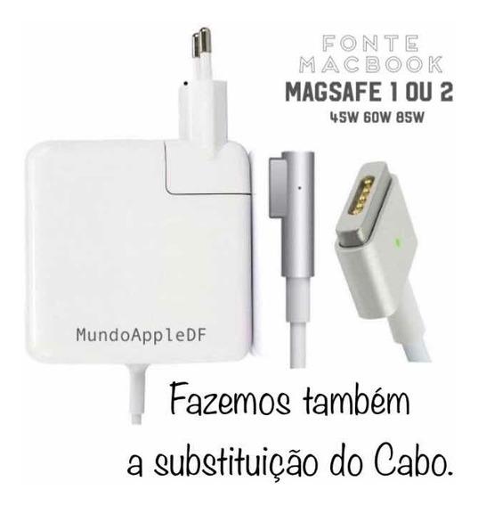 Carregador Macbook Apple 60w Fonte Mac