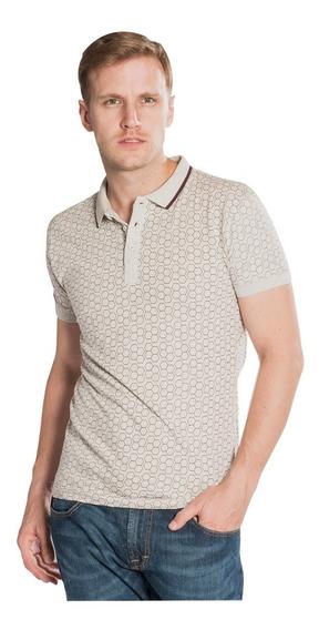 Playeras Camisas Polo Hombre Estampado Casual Moda A80185