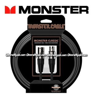 Cable Para Microfono Monster Classic 20ft/6.09m - Mclm20