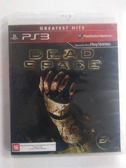 Jogo Dead Space 1 Ps3 Mídia Física Completo R$59,90