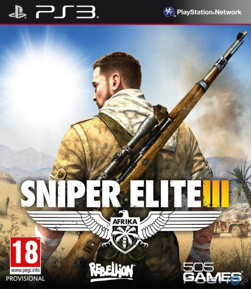 Sniper Elite 3 Ps3 Midia Digital (legendas Pt-br)