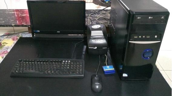 Cpu Completa Intel Dual Core 3.0 Ghz 4 Gb De Memória + Impre